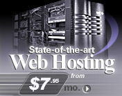 PHP, JAVA and COLDFUSION web hosting from $7.95*